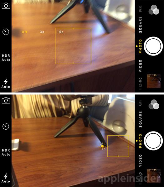 Fotocamera iOS 8