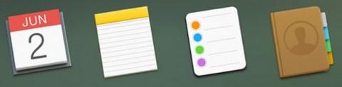 Dock di OS X 10.10 Yosemite 2