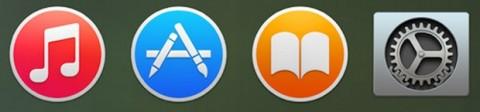 Dock di OS X 10.10 Yosemite 4