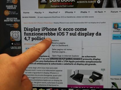 Zorro Macsk, torna (per poco) lo sconto del 20% sulla cornice che fa diventare touch lo schermo degli iMac