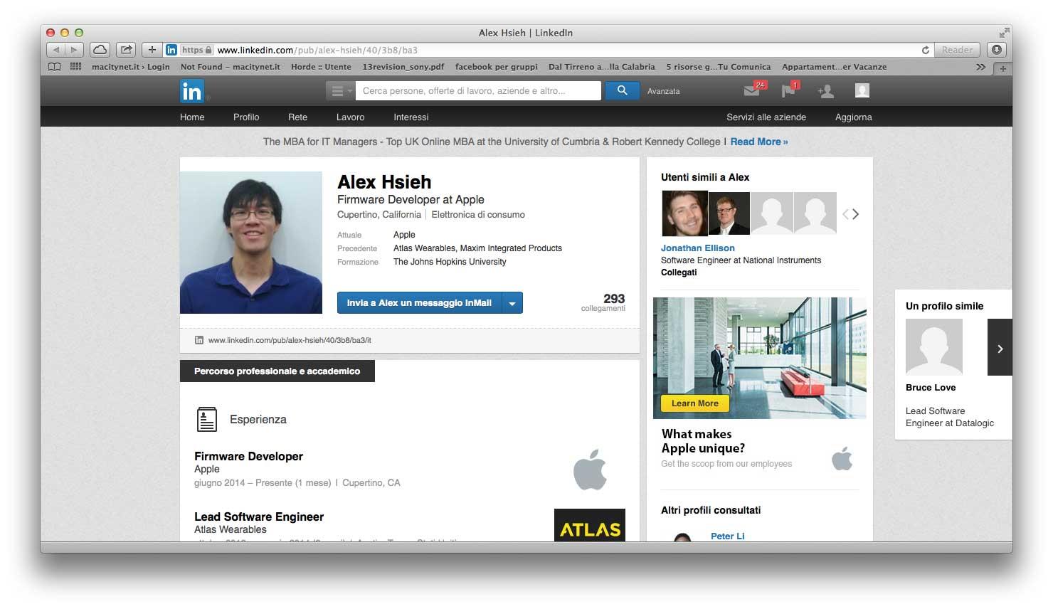 atlas login apple
