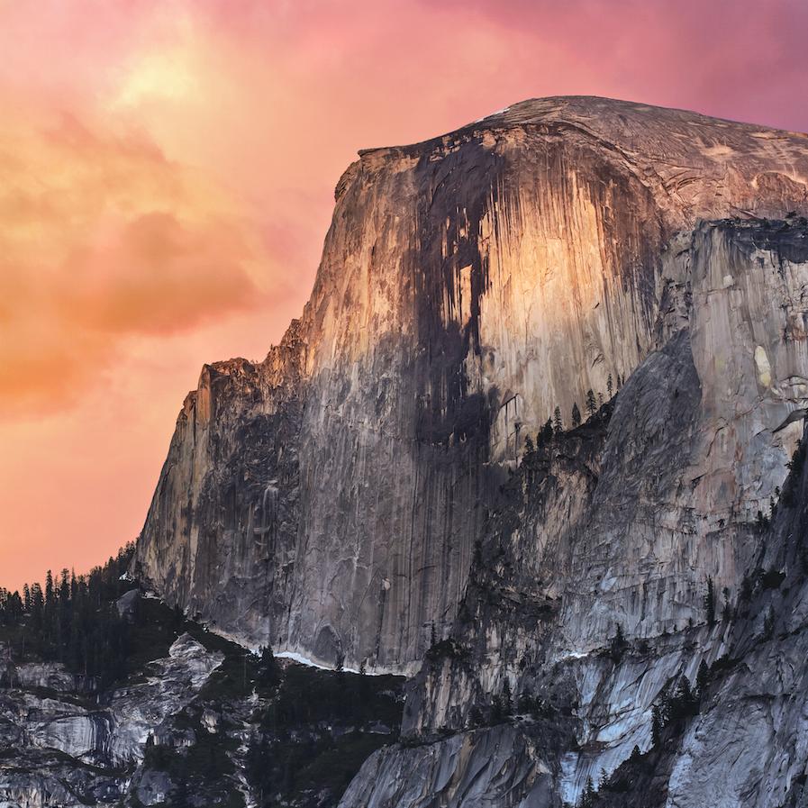 sfondi di iOS 8 e OS X Yosemite