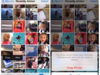 nascondere foto iphone