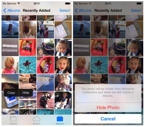 app Immagini iOS 8