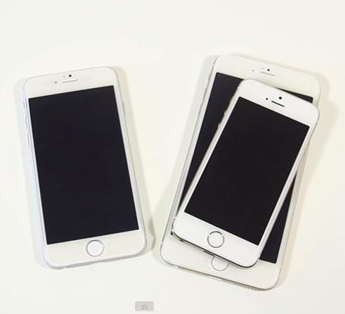 iPhone 6 da 4.7 pollici vs iPhone 6 da 5.5 pollici: il video confronto