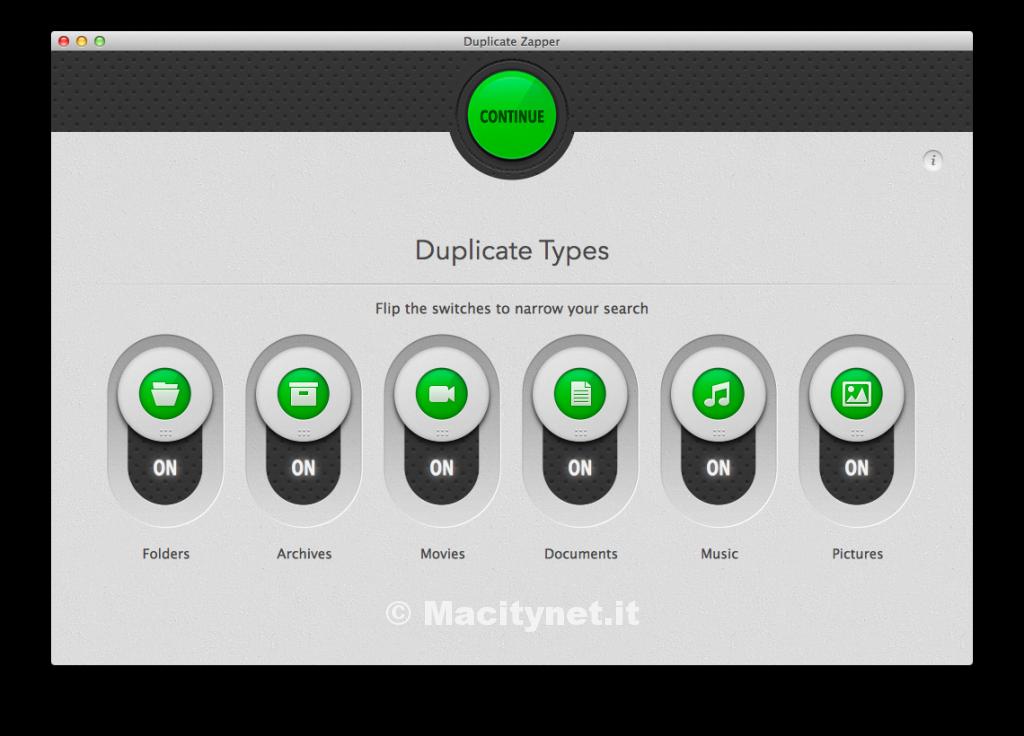 rimuovere file duplicati mac