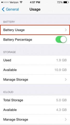 consumo batteria 2