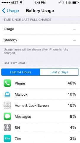 consumo batteria 3