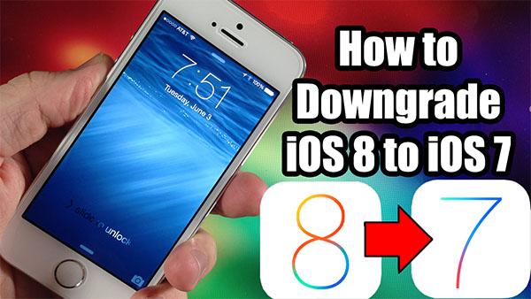 Come tornare ad iOS 7.1.1