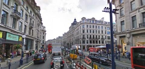 iBeacon in Regent Street 800