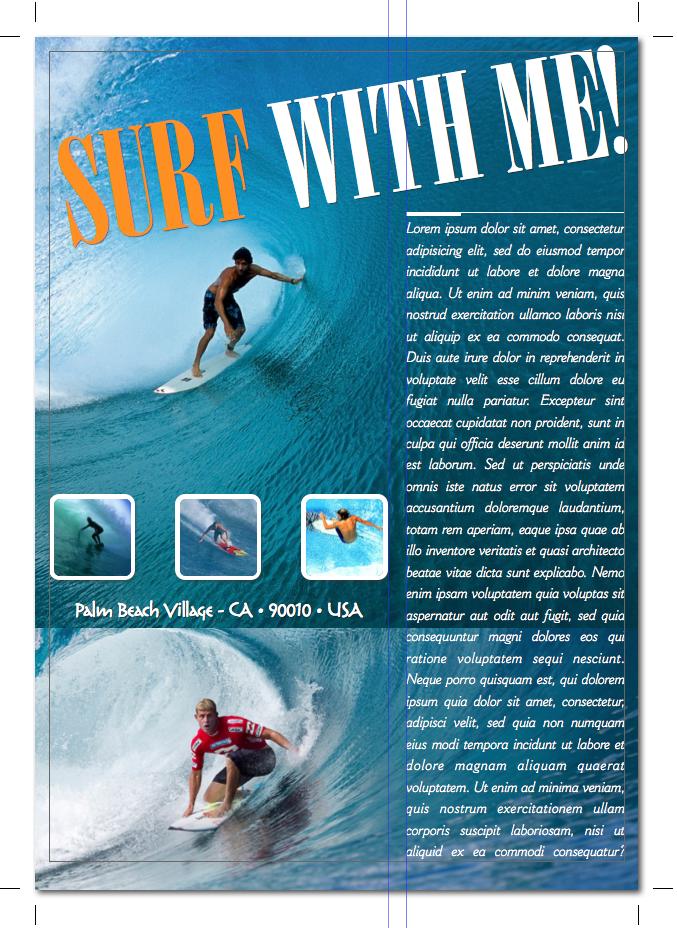 creare layout di riviste