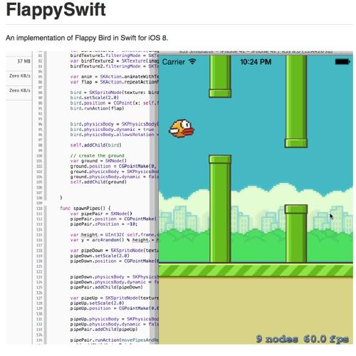 linguaggio swift flappy bird icon 500
