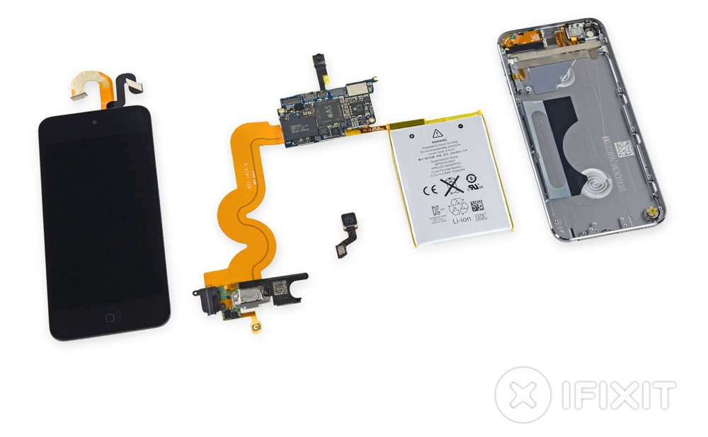 nuovo ipod touch 16gb ifixit 1000