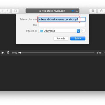 Come salvare MP3 da Safari su Mac senza alcun software aggiuntivo