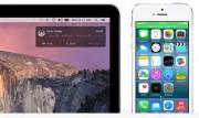 Ora è possibile rispondere alle telefonate direttamente dal Mac. Quando l'iPhone squilla, sul computer potremo vdere una notifica con nome, numero e foto del profilo: un clic sulla notifica e il Mac diventa un vivavoce. È anche possibile rifiutare la chiamata o rispondere al volo con un iMessage.