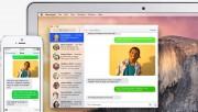 Con OS X Yosemite e un iPhone con iOS 8, mandare e ricevere SMS e MMS direttamente dal Mac. Non importa che telefono hanno i nostri amici: quando mandano un messaggio è possibile rispondere dal dispositivo che preferiamo, perché tutto quello che arriva sull'iPhone compare anche sul Mac. Possiamo anche iniziare una conversazione via SMS dal Mac, cliccamdp su un numero di telefono in Safari, Contatti o Calendario.