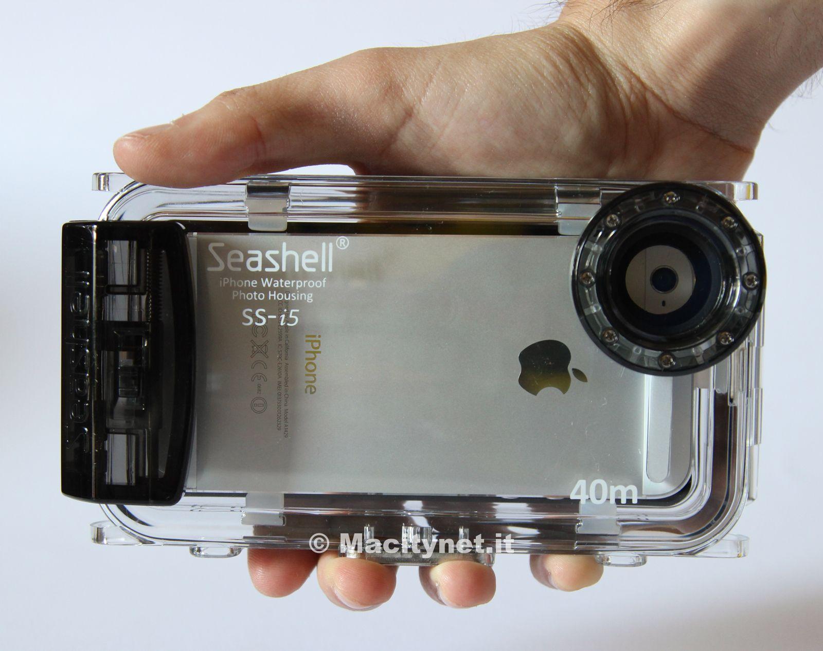 custodia subacquea iphone x