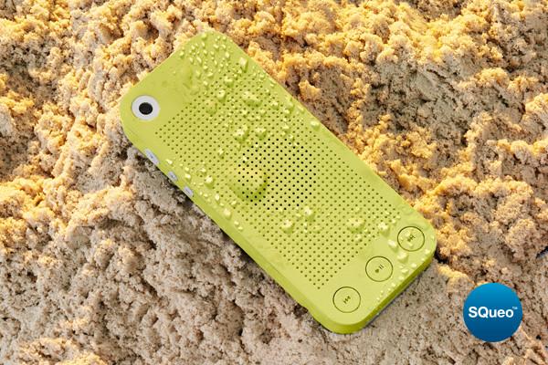 SQueo, lo speakerphone impermeabile che resiste ad acqua, sabbia e polvere