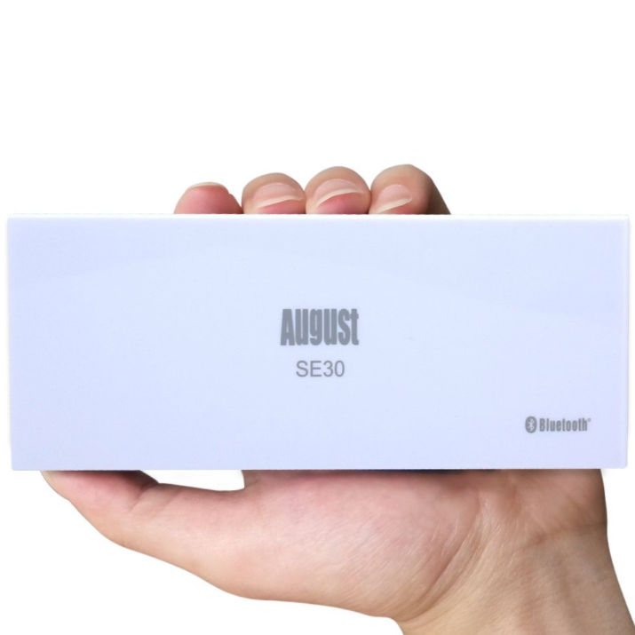 August SE30WB, potente amplificatore Bluetooth codice per sconto del 30%: 21 €