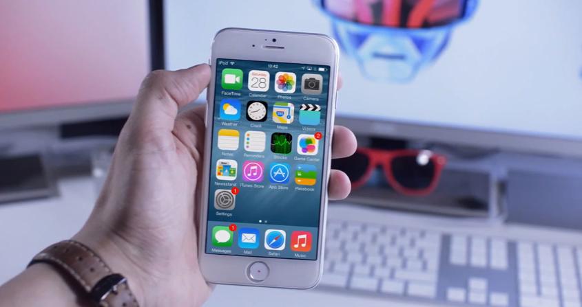 iOS 8 su iPhone 6: un video mostra come sarà