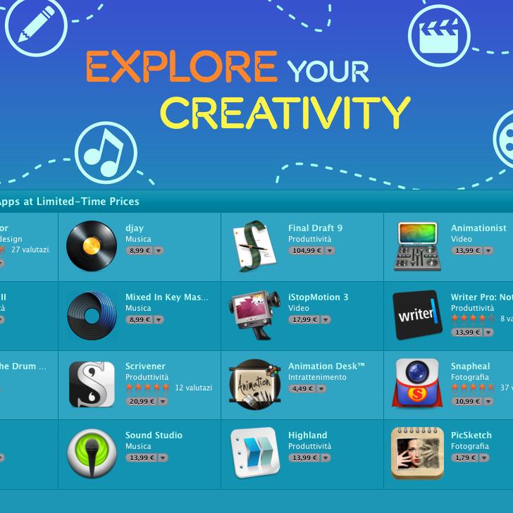 App per la creatività
