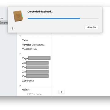 Eliminare contatti doppi su iPhone (e Mac) senza alcun software