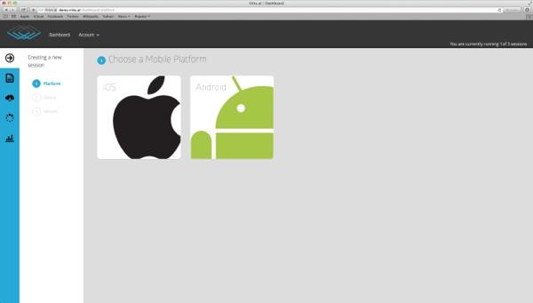 emulatore iOS e Android Virtual 600