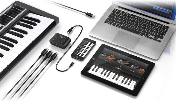 Come faccio a collegare una tastiera MIDI al mio iPad