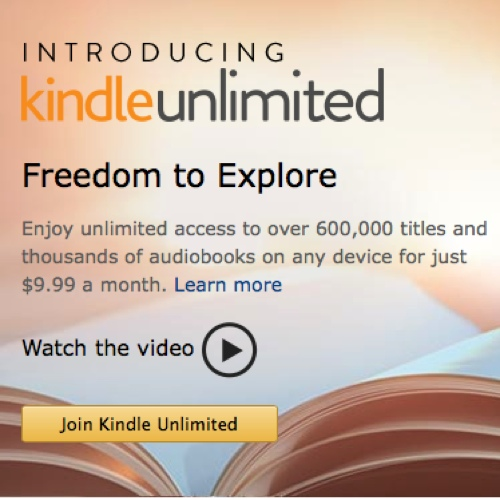 kindle unlimited icon 500