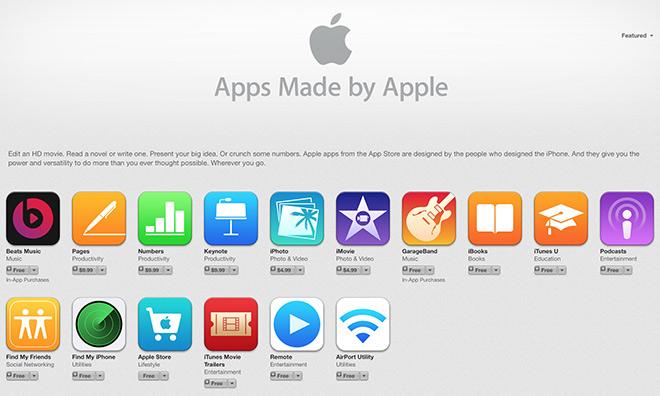 Nello Store Usa Beats Music è app Made by Apple