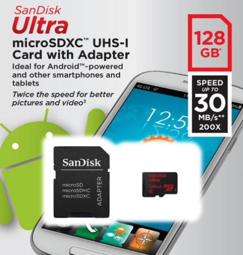 SanDisk da 128 GB