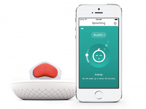 Sproutling baby monitor 3
