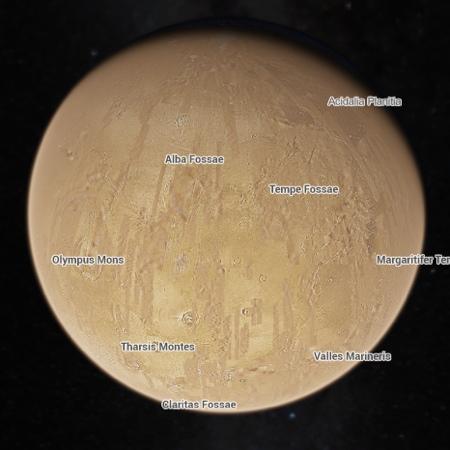 Viaggi su Marte google icon 500