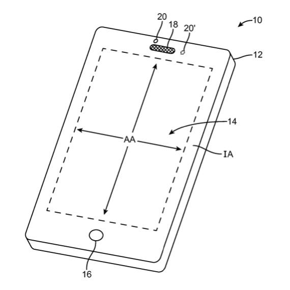 brevetto apple facetime selfie 1