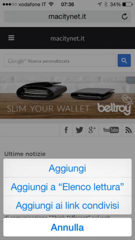 nuova funzione per aggiungere un sito ai preferiti tramite lunga pressione dell'icona bookmark (1)