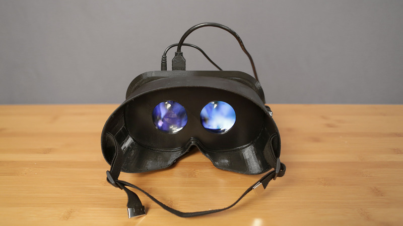visore stereoscopico 3D