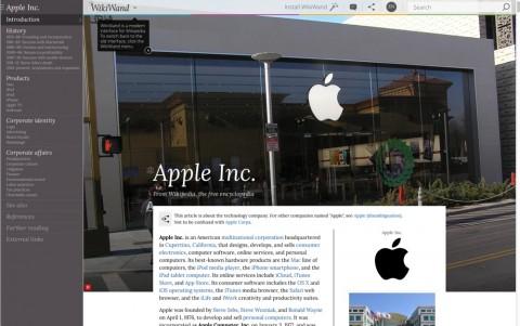 wikiwand 1 apple