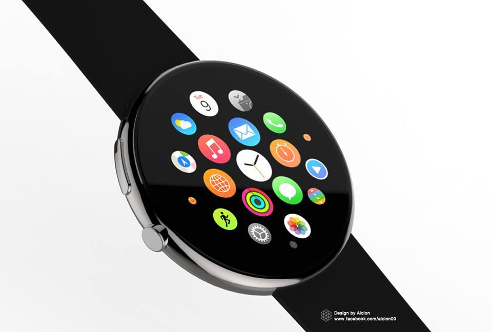 interfaccia grafica Apple Watch