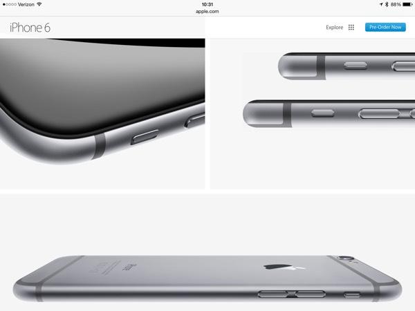 fotocamera sporgente iPhone 6