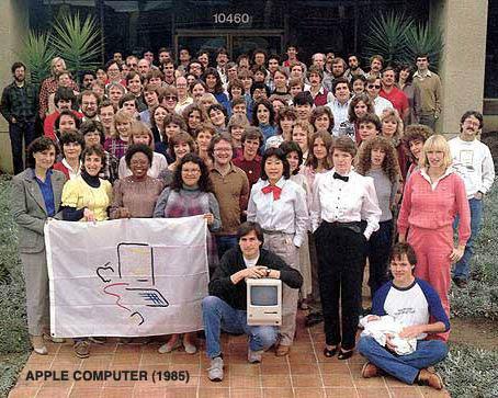 Apple Macintosh divisione 1985 steve jobs