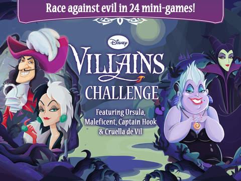 I Cattivi Disney Sbarcano Su Ios Con Disney Villains Challenge