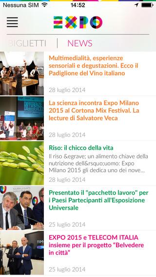 App ufficiale di expo 2015 guida all 39 esposizione for Esposizione universale expo milano 2015