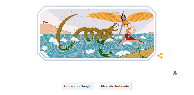 Google doodle ludovico ariosto