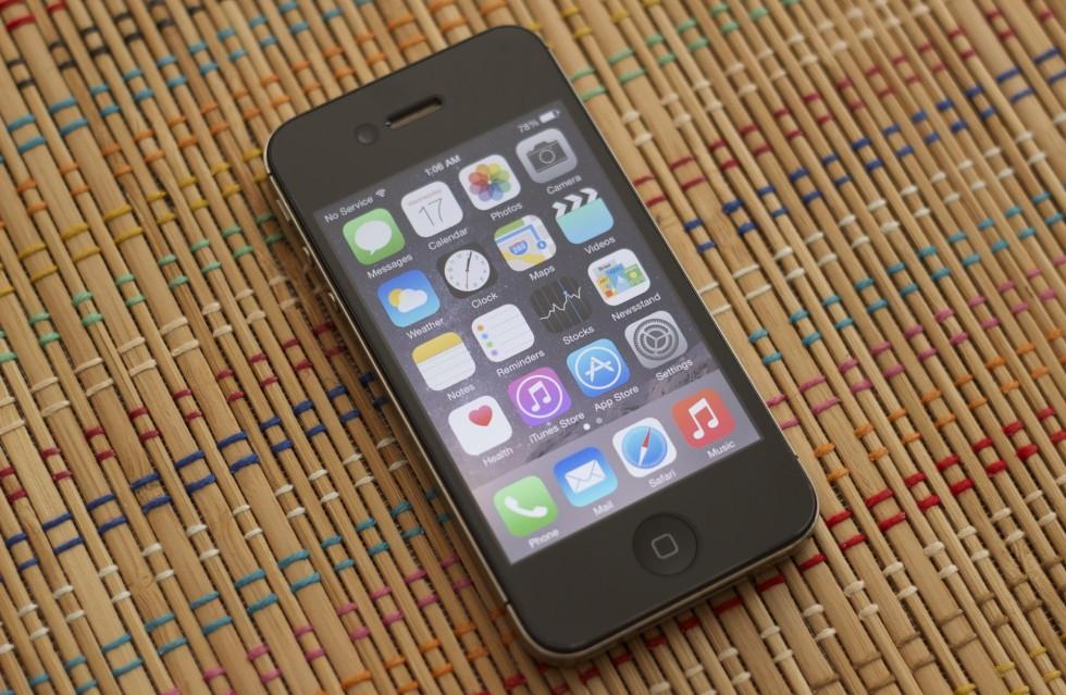 aggiornamento ios 8 iPhone 4s