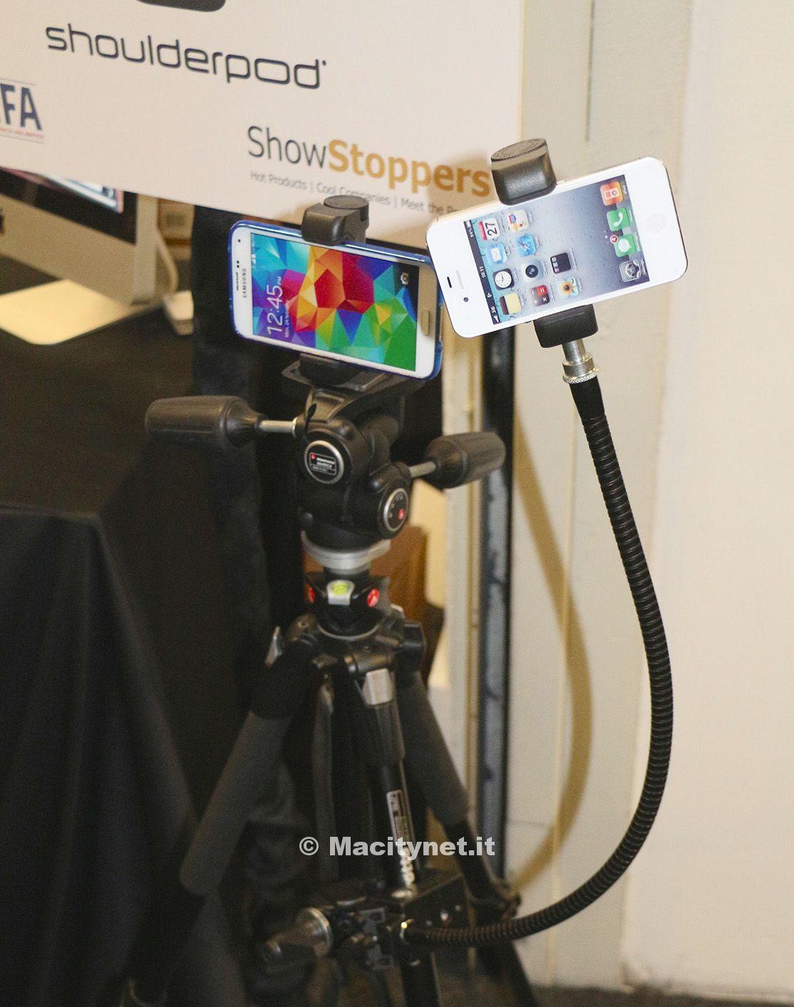 IFA 2014: Shoulderpod S1, l'accessorio perfetto per fotografi e videomaker con iPhone