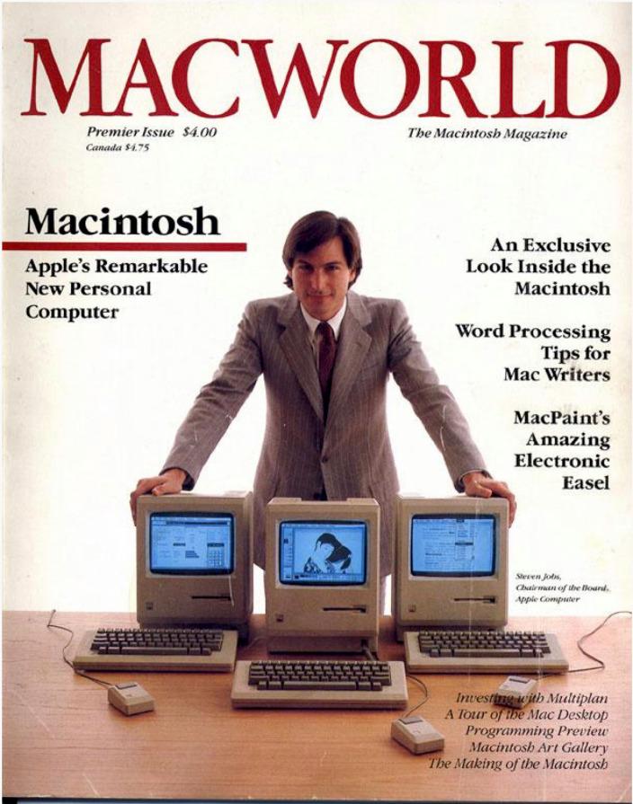 Il primo storico numero di Macworld