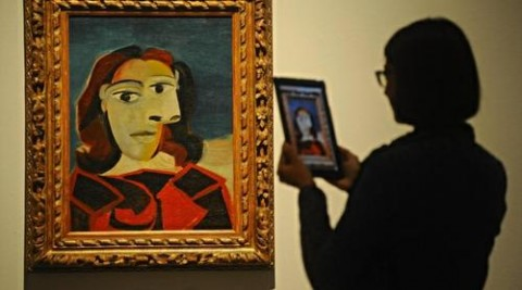 Picasso ipad museo
