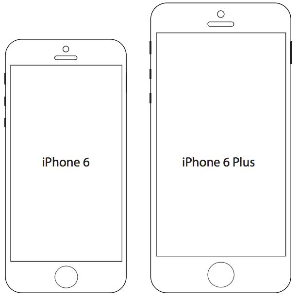 Misure Iphone 6 E Iphone 6 Plus Stampali In Pdf Prima Di