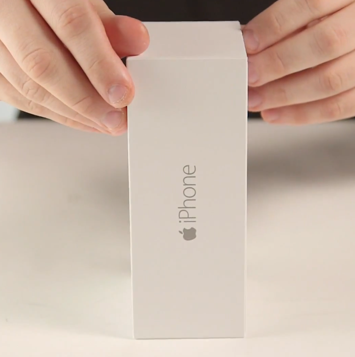 video unboxing iPhone 6