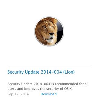 aggiornamenti sicurezza apple